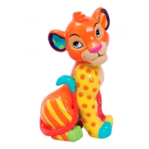 Disney by Britto - Simba Sitting Mini