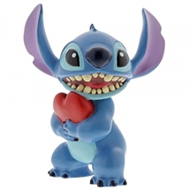 Disney Figurer Stitch Heart