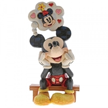 Jim Shore Disney Traditions - Thinking of You (Mickey Mouse Figur)