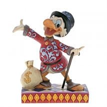 Jim Shore Disney Traditions - Treasure Seeking Tycoon (Scrooge)