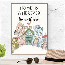 Mouse and Pen - Home Is Whereever I'm With You/Houses A4