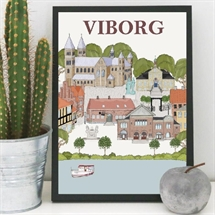 Mouse and Pen - Viborg By Poster