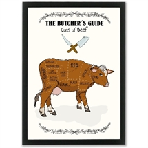 Mouse and Pen - The Butchers Guide/BEEF A3