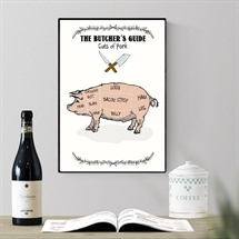Mouse and Pen - The Butchers Guide/PORK  A4