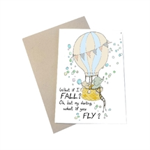 Mouse and Pen - What if I fall - oh my darling what if you fly? A6