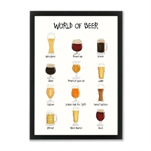 Mouse and Pen - World of Beer A4