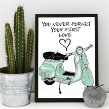 Mouse and Pen - You Never Forget Your First Love/VESPA A4