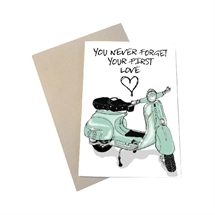 Mouse and Pen - You Never Forget Your First Love/VESPA A6