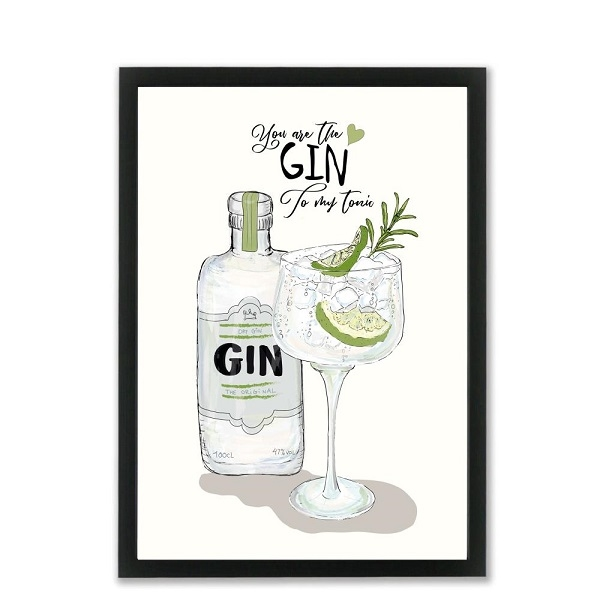 Mouse and Pen - You are my Gin A4