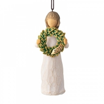 Willow Tree - 2021 Ornament H:11 cm.